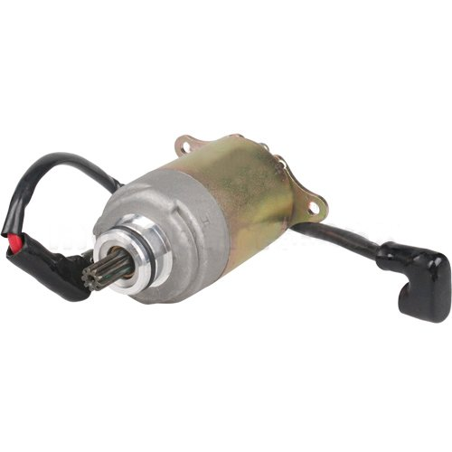 X-PRO 9 Tooth Starter Motor for GY6 125 cc 150cc Scooters Go Karts ATVs Moped Dune Buggys Quad 4 Wheelers