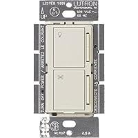 Lutron MA-ALFQ35-LA Maestro Companion Fan and Light Control, Light Almond