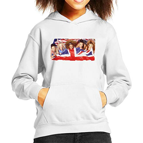 Retro Spice Girls Union Jack Kid's Hooded ()