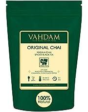 Indiens Original Masala Chai Tea Loose Leaf (200+ Tassen) | 100% NATÜRLICHE ZUTATEN | Schwarzer Tee, Zimt, Kardamom, Nelken und schwarzer Pfeffer Braut Chai Latte | Altes indisches Hausrezept | 454gr