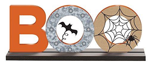 (Amscan 242283 Boo Halloween Table Sign, 6