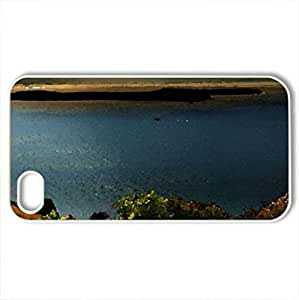 archipelago panorama - Case Cover for iPhone 4 and 4s (Beaches Series, Watercolor style, White)