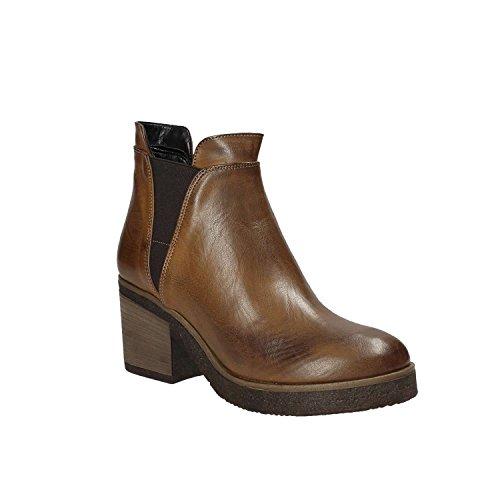 Brown Women Ankle 0333 SHOES GRACE Boots XIxzwan4Iq