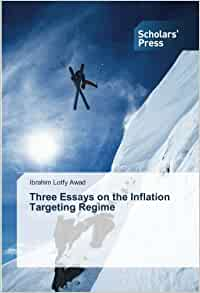essays on inflation targeting Phd thesis on inflation targeting us-based service has hired native writers with graduate degrees, capable of completing all types of papers on any academic level.