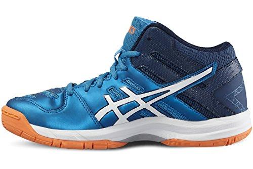 Junior Zapatillass GEL-BEYOND 5 MT GS BLUE JEWEL/WHITE/HOT ORANGE 16/17 Asics BLUE JEWEL/WHITE/HOT ORANGE
