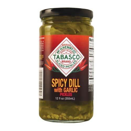 Tabasco Spicy Dill with Garlic Pickles, 12 Ounce (Dill Pickles Spicy)