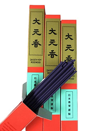 Nippon Kodo Daigenkoh Rosewood Japanese Stick Incense - Long Incense