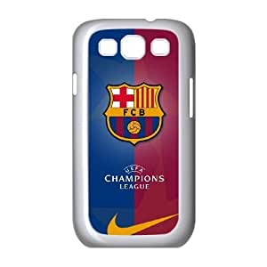 Personality customization TPU Case with Barcelona Barcelona Samsung Galaxy S3 9300 Cell Phone Case White