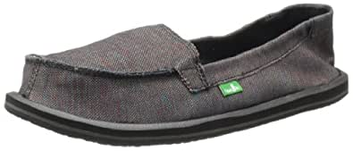 Sanuk Women's Shorty Flat,Black/Multi,5 M US
