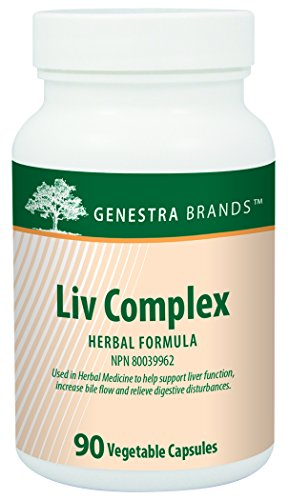 Genestra Brands - Liv Complex - Liver Support Supplement* - 90 Capsules