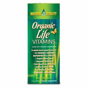 Natural Vitality Organic Life Vitamins, Nutripacks 30 nutri packs