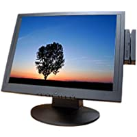 Bematech LE1000M LE1000 Series Resistive Touch Screen Monitor, 3 Track MSR, USB Interface, 15