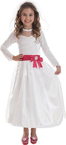 Generique Disfraz Barbie Novia niña: Amazon.es: Juguetes y juegos