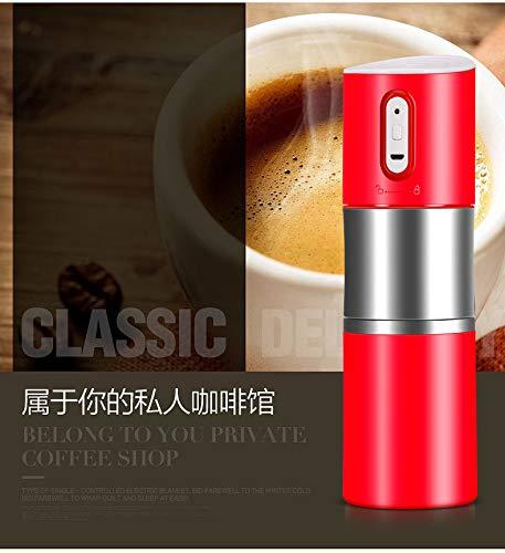 NMTGBDF cafetera Máquina de café portátil recargable mini ...