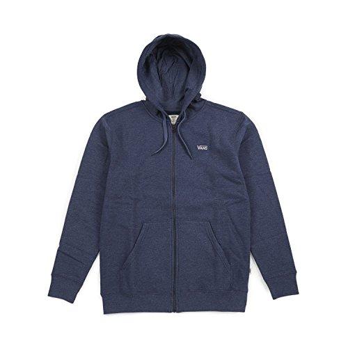 Vans Core Reißverschluss Kapuzenpulli - Kleid Blau L
