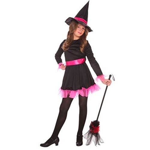Girls (Witch Costume For World Book Day)