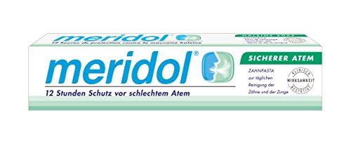 Meridol Sicherer Atem Zahnpasta, 2er Pack (2 x 1 Stück)