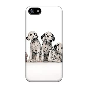 Tpu Shockproof/dirt-proof Cute Dogs Cover Case For Iphone(5/5s)