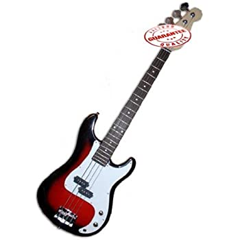 electric bass guitar starter set cherry burst musical instruments. Black Bedroom Furniture Sets. Home Design Ideas