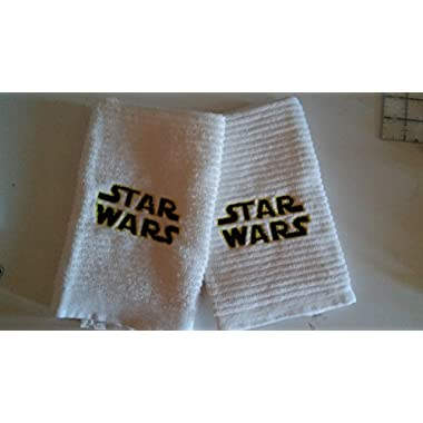 2 cotton Star Wars themed kitchen towels