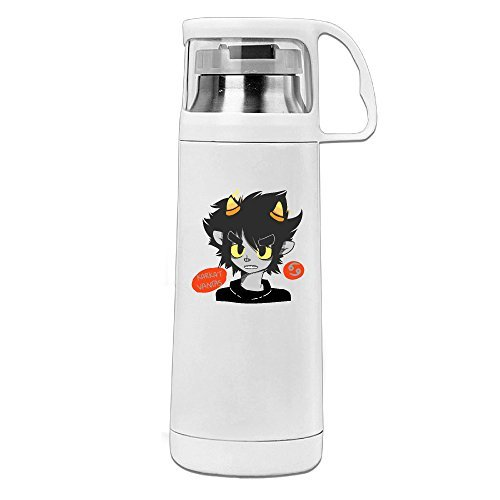 [Thermos 12 Ounce Stainless Steel Commuter Bottle, Karkat Vantas Coffee/ Water Bottle, Travel Thermal Mug With Drink] (John Homestuck Costumes)