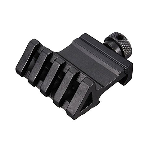 Xshine Picatinny Weaver Style 45-Degree Offset Rail Mount 20mm Weaver For Laser, Flashlight, Red Green Dot Sight