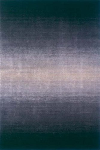 Metro Contemporary Wool Area Rug in Midnight Fade - MT-12 (3 ft. 3 in. x 5 ft. 3 in. Rectangle) ()