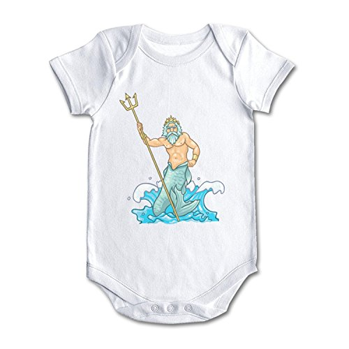 bbabylike Poseidon Handle Trident in The Sea Cool Design Baby Girl Boy -