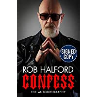Confess: The Autobiography (Signed Book) by Rob Halford