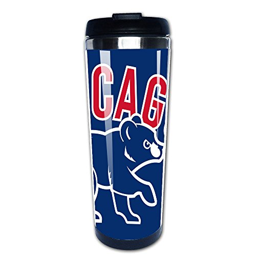 Chicago Cubs Logo Stainless Steel Mug & Vacuum Flask & Coffee Thermos & Travel Tumbler