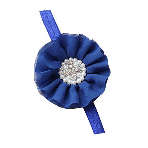 [BlueTop Unusal Cotton Girls Baby Diamond Pearl Flower Hairclip Hairband Headband] (12 Month Girl Costume)