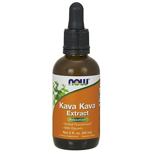 NOW Kava Kava Extract Liquid,2-Ounce