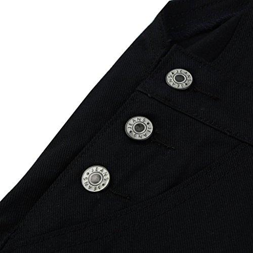 Denim Hiver Automne Printemps Pantalons Dcontracte Noir Dark T En Look Fonc Salopette Daisy Jeans Combinaison Noir Lolittas Pantalon Poches Combinaison Et En Salopette Jean w04WqzR