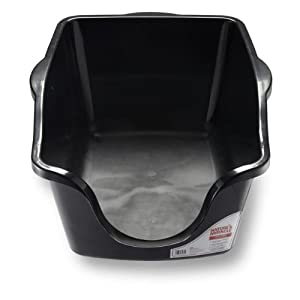Nature's Miracle High-Sided Litter Box, 23 x 18.5 x 11 inches 23