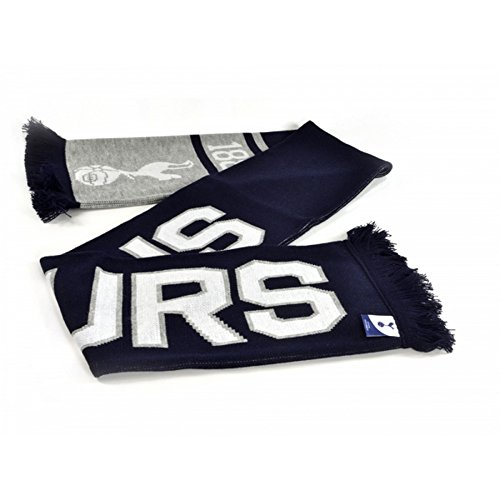 - Tottenham Hotspur FC Official Soccer Jacquard Nero Scarf (One Size) (Navy/White)