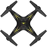 Greatgiftlist 2.4G HD Camera WIFI Drone Quadcopter UAV Remote Control Helicopter Real-time Gravity Sensor and Headless (Yellow)