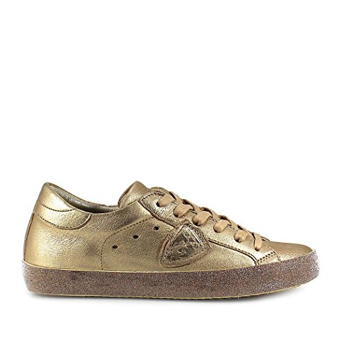 2018 Philippe Sneaker Glitter Oro Scarpe Di Parigi Modello Donne Primavera Metal Estate U6Px5qC