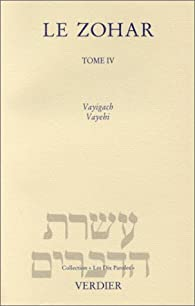 Le Zohar, tome 4 par Charles Mopsik
