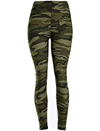 VIV Collection Best Selling Printed Brushed Leggings...