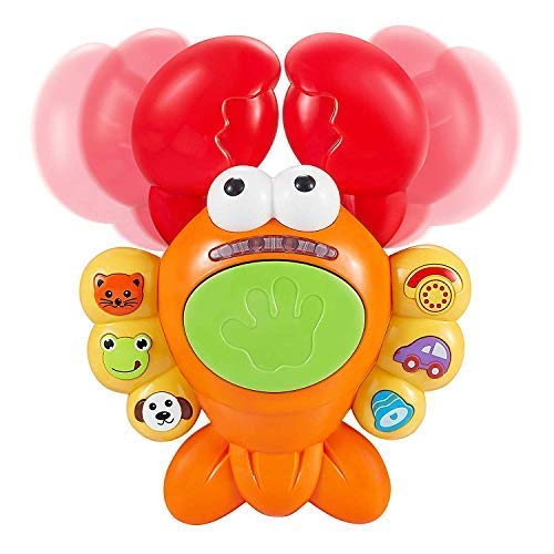 Musical Lobster Toy for Toddlers Aged 1 2 3 4 5+ Interactive Toy for Toddler Boy or Girl Aged 1 2 3 4 5 by ThinkGizmos TG721