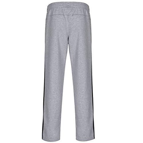 Adidas Mens ESS 3-Sripe LISWPTOH Light Sweat Open-Hems Hose Pant MEG Helium White