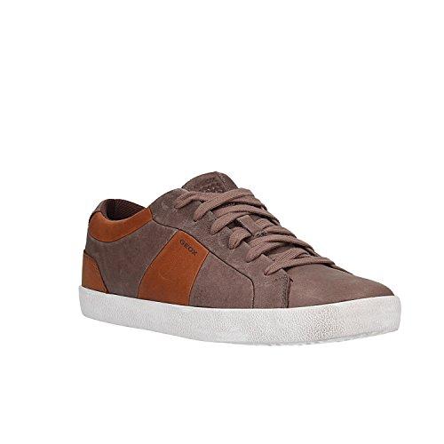 Geox Men's U Smart B Low-Top Sneakers Brown (Coffee/Cognac C6090) px9aiMJ