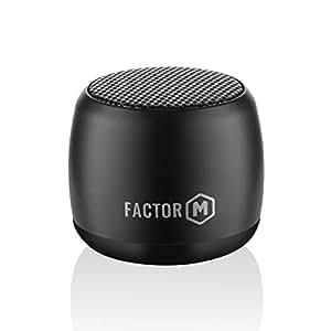 Factor-M Kablosuz Mini Hoparlör Aksesuar, Siyah