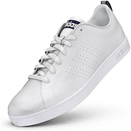 adidas NEO Men's Advantage Clean VS Lifestyle Tennis Shoe, White ...