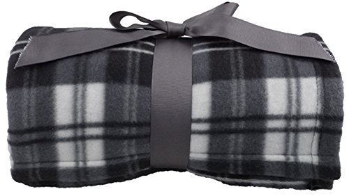 [Simplicity Super Soft Warm Plaid Patterned Polar Fleece Blanket Throw 50