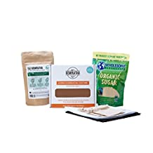 KOMBUCHA MOTHER STARTER KIT (Culture + Kombucha Tea Blend + Starter Tea + Gloves, Ph Strips, Cover, and More!) w/ #1 Selling SCOBY In North America