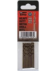 Brocas metal duro TTP 2,5 mm tubo de 10 bits mayor azul para taladrar metales más acero inoxidable aluminio hierro fundido larga vida fácil de usar mejores brocas para taladrar metal resistente se puede afilar
