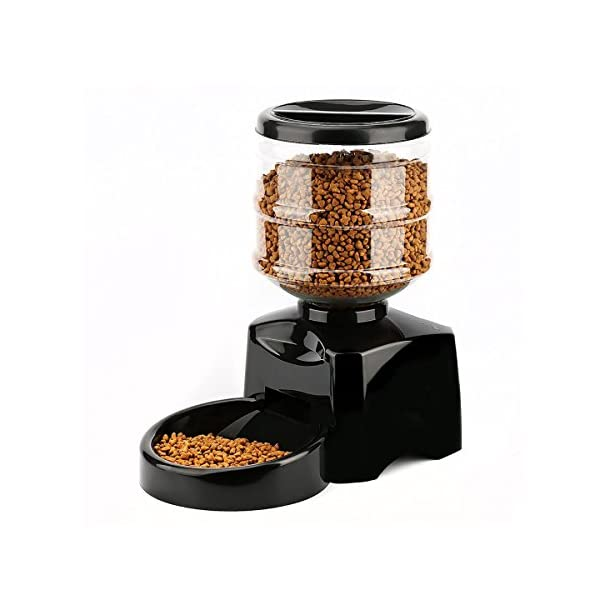 PETCUTE 5.5 Liters LCD Automatic Pet Feeder Dog Feeder Cat Food Dispenser Auto Holiday Dispenser with Voice Recorder Click on image for further info.