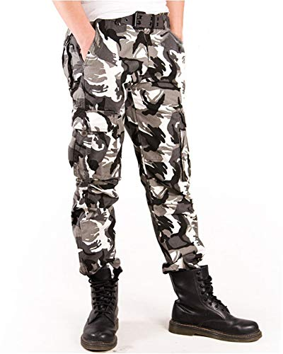 C Cargo LavoroMulti Stile Militari,pantaloni TascheCotoneUomo Daihan Pantaloni MimeticiDa WEbH9D2IYe