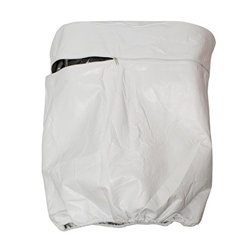 Dumble Camper Propane Tank Cover - Double 40 lb Propane Tank Cover for Camper RV Trailer, RV Single Propane Tank Cover (Rv Propane Tank Cover)